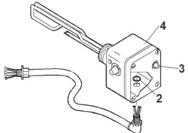 Jacuzzi 5251000;; Alternative Heater assembly with high