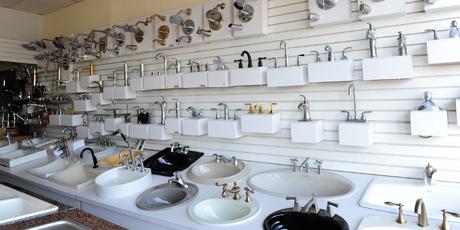 kitchen sink replacement aide mixers guillen's plumbing showroom | miami part supply ...