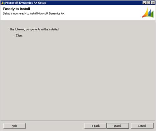 Instalar Microsoft Dynamics AX 2009: Componentes Base