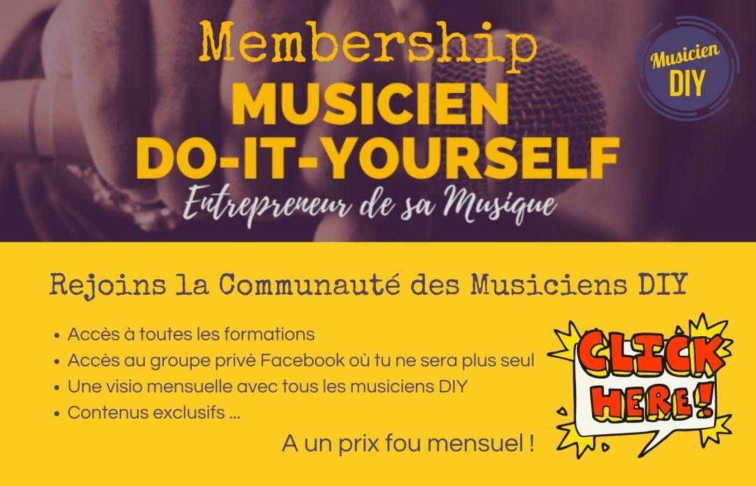musicien diy membership