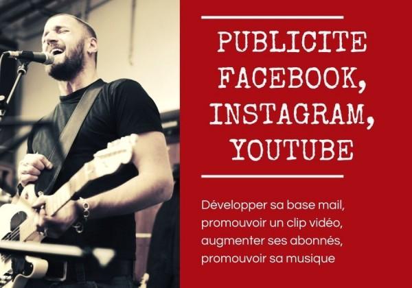 facebook youtube pour les musiciens