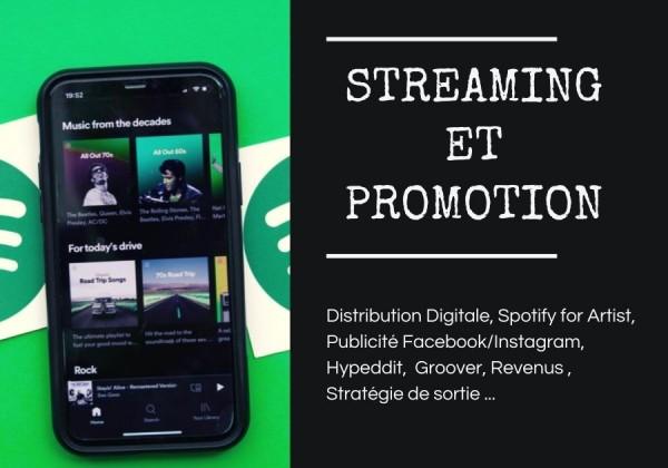 distribution digitale streaming promotion