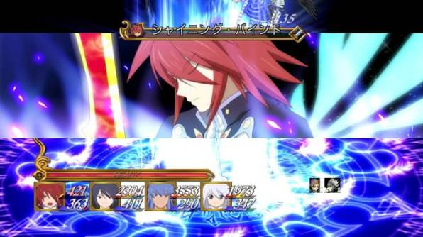 tales of symphonia chronicles 10 aniversario batalla anime 1