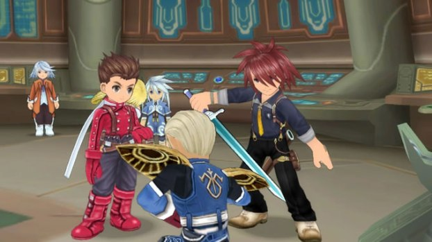 tales of symphonia chronicles 10 aniversario gameplay 1