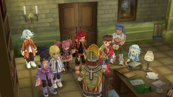 tales of symphonia chronicles 10 aniversario gameplay 2