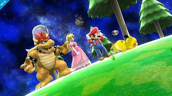 Super Smash Bros Screenshot 1