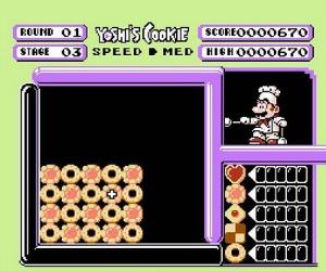 Yoshi's Cookie NES