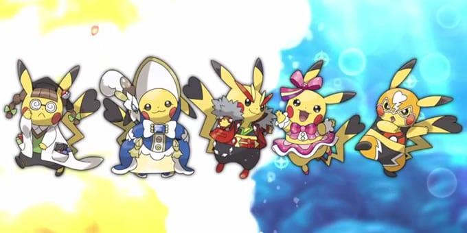 Pikachu ya tiene su cosplay preparado