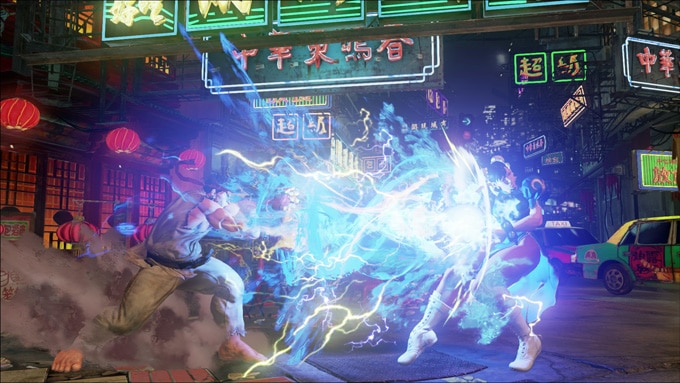 Street Fighter V 5 Interior