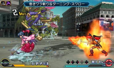project x zone 2 gameplay 6