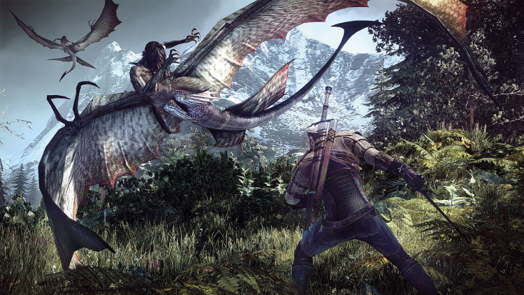 The WItcher 3: Wild Hunt muestra su primer gameplay en PlayStation 4