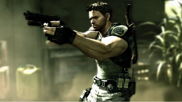 resident evil chris redfiel