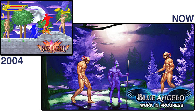 Blue Angelo: The remake of the 2004 Action RPG (VETASOFT)