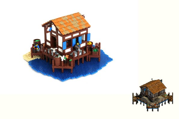 age of empires LEGO muelles