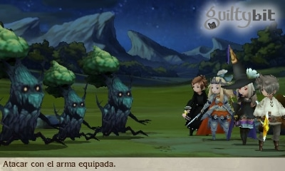 guia bravely second gatomante hamadriades