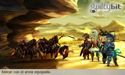guia gatomante bravely second paraponera tonel