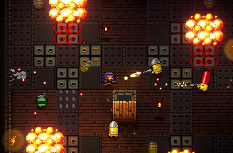lanzamientos indie enter the gungeon