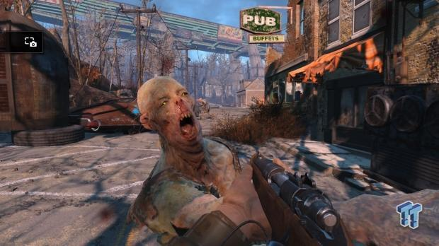 The Walking Dead, recreado en Fallout 4