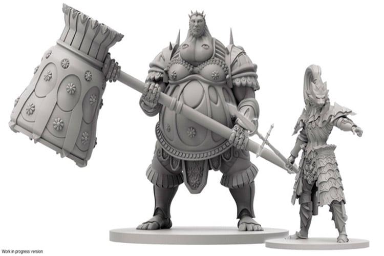 El juego de mesa de Dark Souls triunfa en Kickstarter