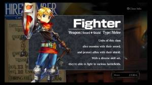 grand kingdom clases luchador fighter