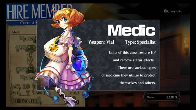 grand kingdom clases medico medic