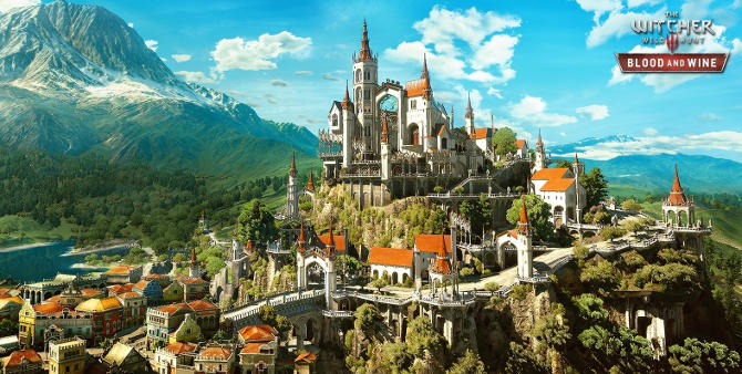the witcher 3 expansion region video