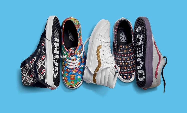 Nintendo lanza su colección de zapatillas Vans el 3 de junio