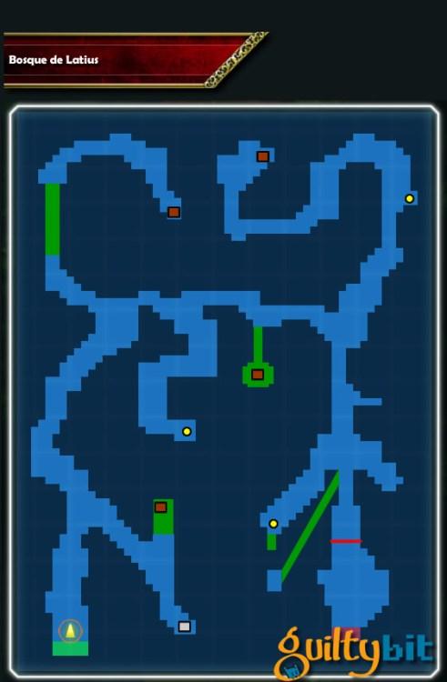 Guia Final Fantasy Brave Exvius Mapa Bosque de Latius 2