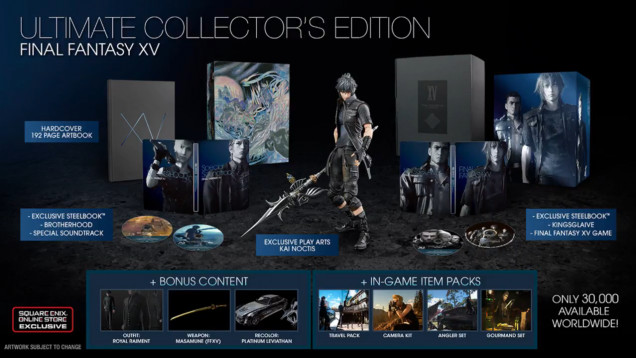 final fantasy xv edicion coleccionista season pass