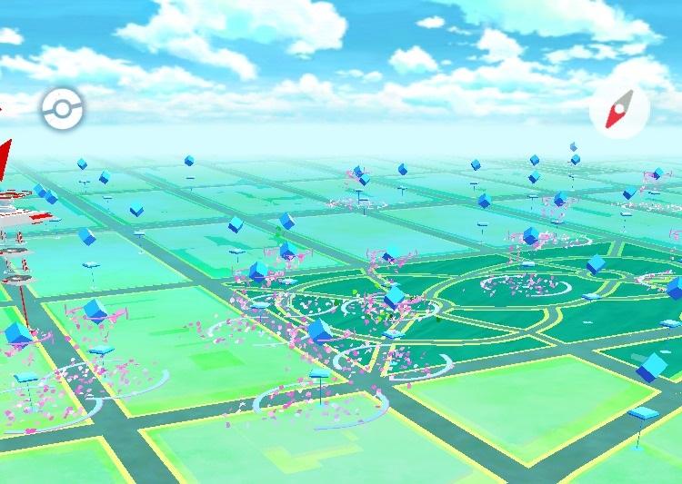 En lugares como este aparecerán una barbaridad de pokémon