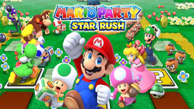 Mario Party: Star Rush enseña novedades en el Nintendo Direct