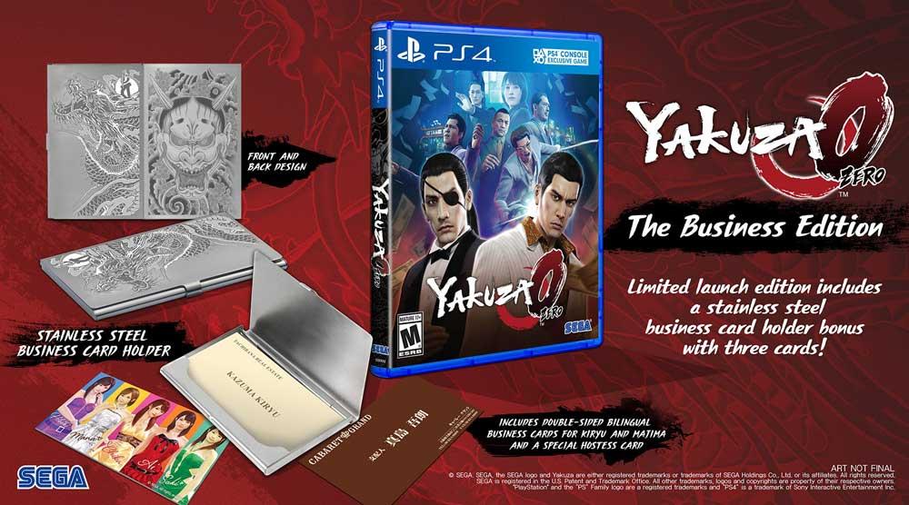 yakuza 0 edición especial