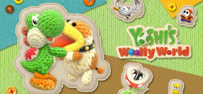 Poochy and Yoshi's Woolly World vídeos 3ds