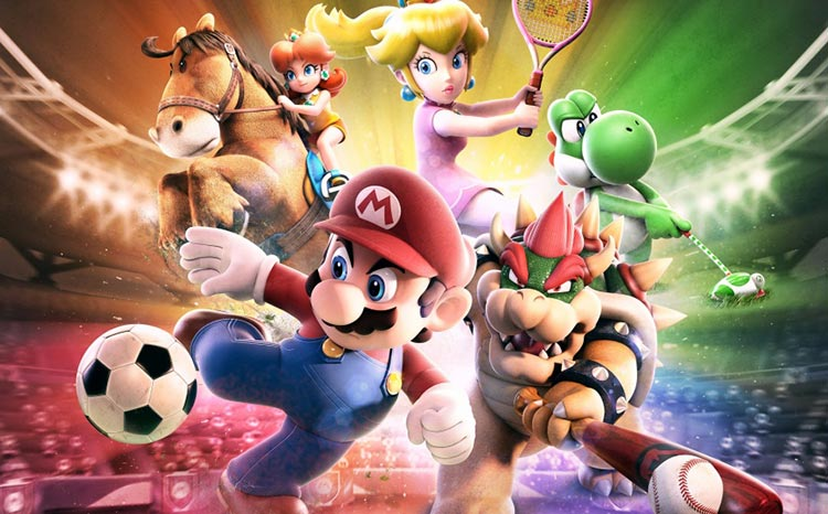 Mario Sports Superstars opening
