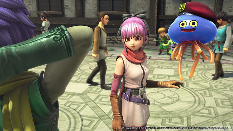 Dragon Quest Heroes II nintendo switch playstation 4 comparativa