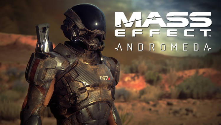 captura de movimiento de Mass Effect: Andromeda