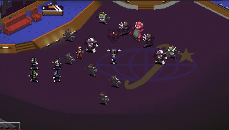 lanzamiento de Chroma Squad para PlayStation 4 y Xbox One