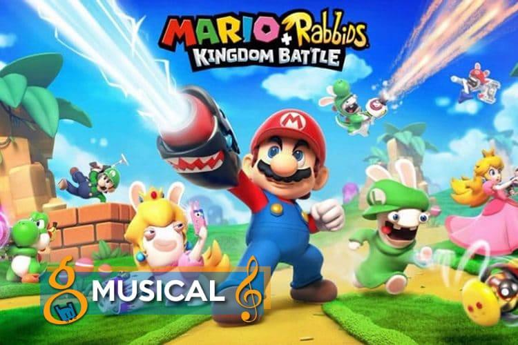 mario y rabbids kingdom battle musical