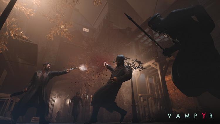 Dontnod muestra un nuevo video con gameplay de Vampyr