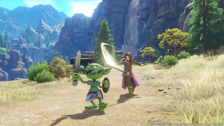 La duración de Dragon Quest XI estará entre las 50 y las 100 horas