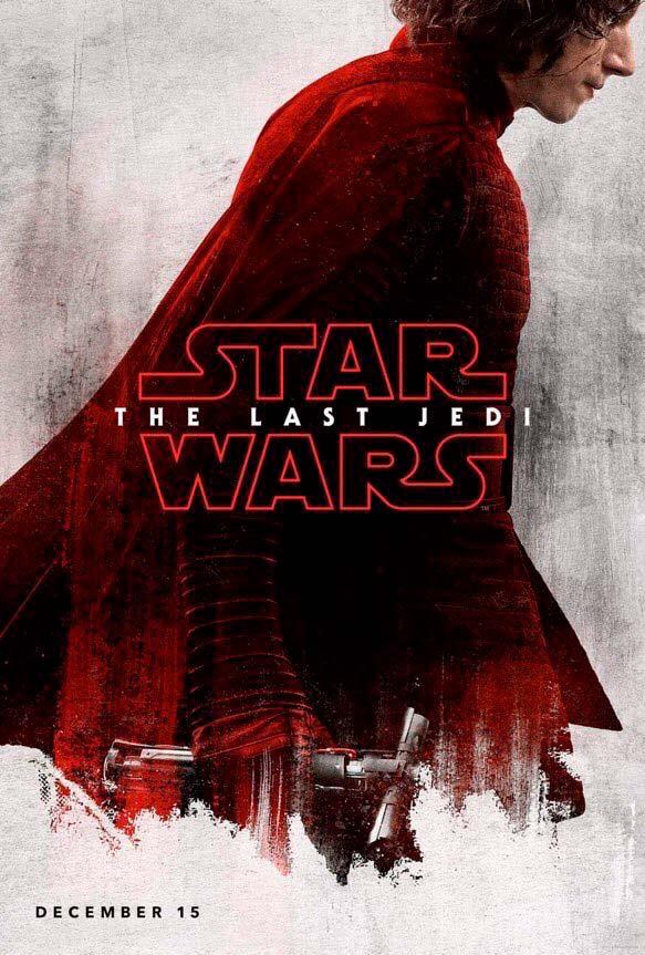 Póster de Kylo Ren Star Wars