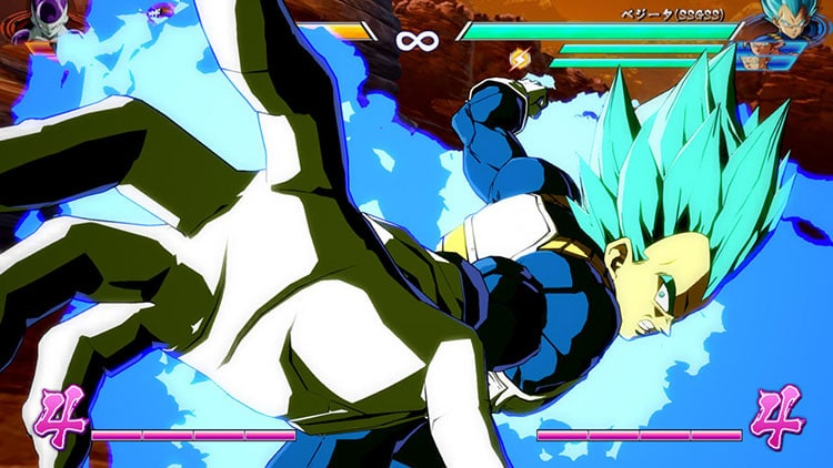 Espectacular tráiler de Goku y Vegeta Super Saiyan Blue en Dragon Ball FighterZ