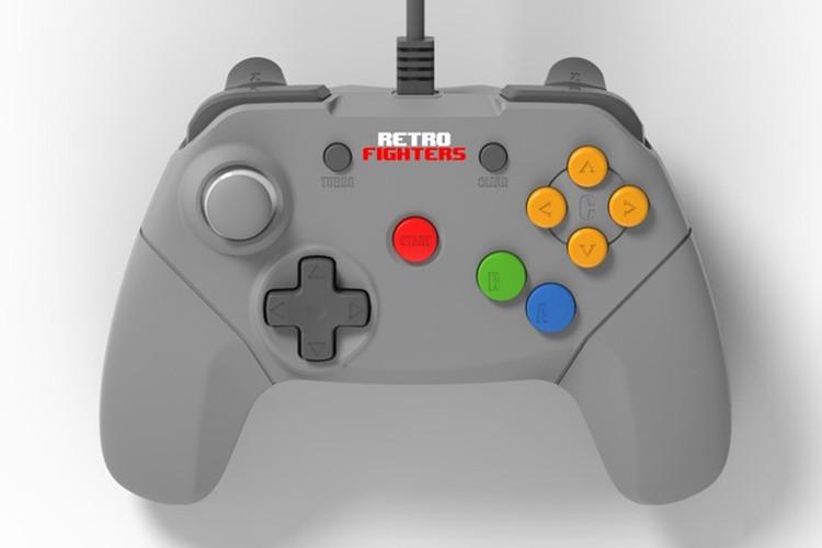 Retro Fighters mando moderno de Nintendo 64