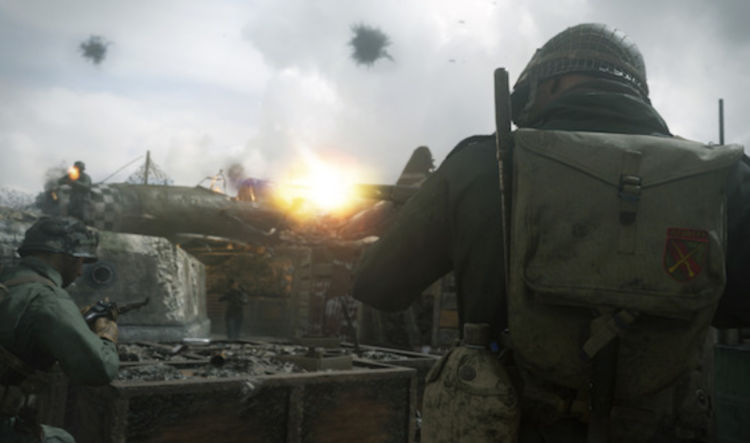 cambios en Call of Duty: WWII