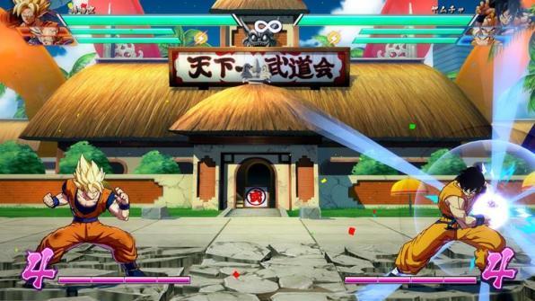 Primeras imágenes en acción de Yamcha y Ten Shin Han en Dragon Ball FighterZ