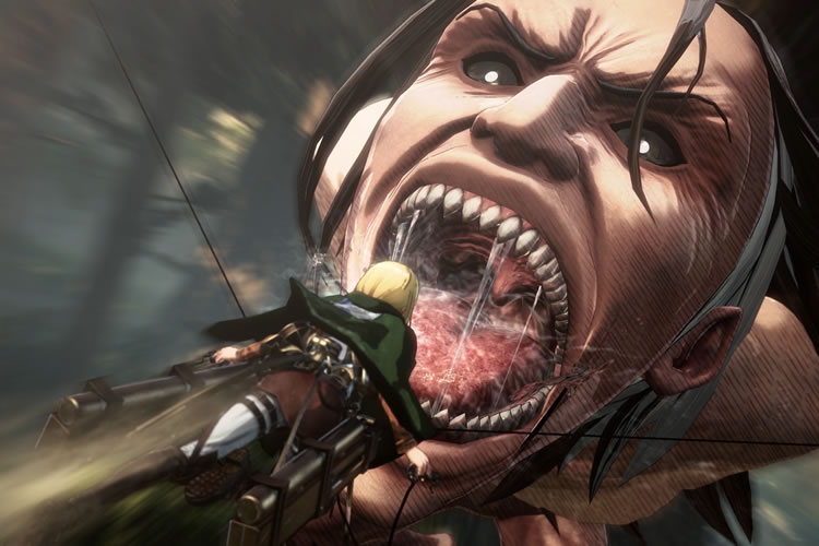 attack on titan 2 para nintendo switch