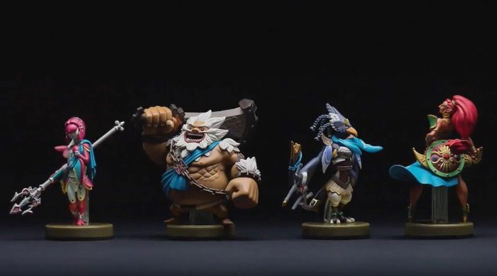 nuevos amiibos de Zelda: Breath of the Wild