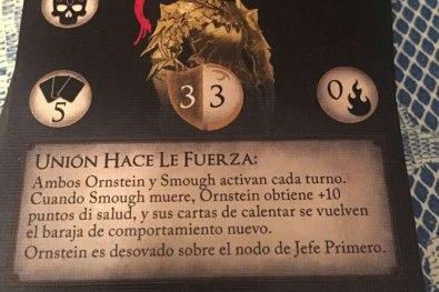 traduccion al castellano del juego de mesa de dark souls 1
