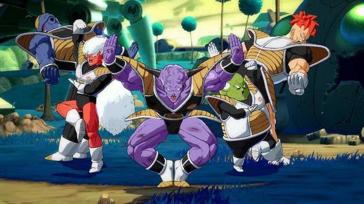 presentación de Ginyu en Dragon Ball FighterZ