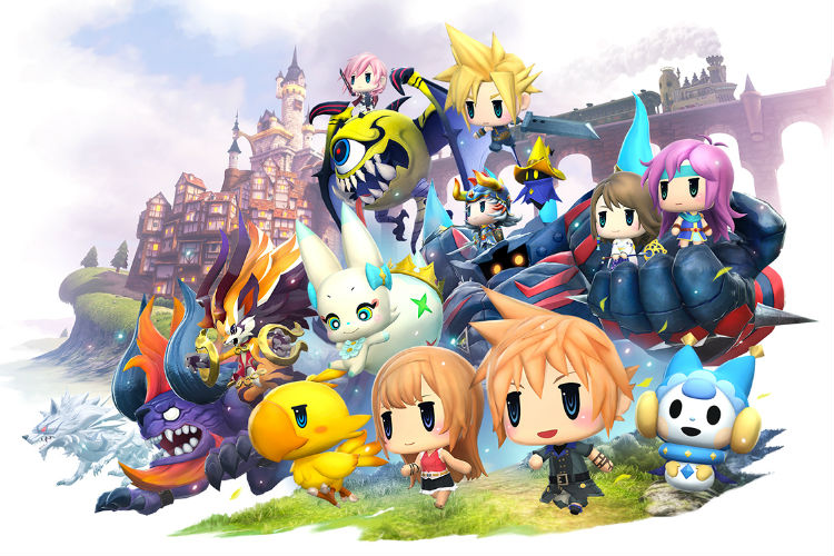 world of final fantasy meli-melo para moviles